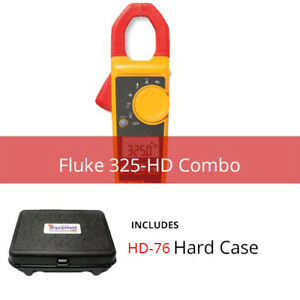 Fluke 325 hd True rms Clamp Meter With Hardcase