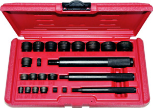 23piece Bushing Driver Set 3 8 1 3 8 T E Tools 9002