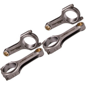 Forged H Beam Connecting Rods For 90 97 Honda F22a F22b H23a Accord 142mm