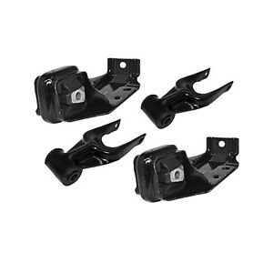 Engine Motor Mounts Front Right And Left Set 4pcs Kit 3 1 L For Chevrolet