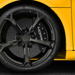 Matte Black Mopar Caliper Covers Fits Brembo For 2015 16 Dodge Challenger By Mgp