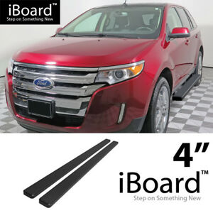 4 Black Eboard Running Boards Fit Ford Edge lincoln Mkx 07 14