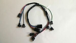 1962 1963 Chevy Pick Up Truck Dash Instrument Cluster Wiring Harness Gauges