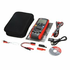 Uni t Unit Ut71d Rms Digital Multimeter Tester Dmm Usb Auto Data Log Ac Dc Power