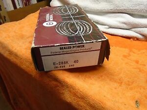 68 90 Buick Chevy Pontiac Jeep Oldsmobile 307 350 Piston Ring Set 288k40