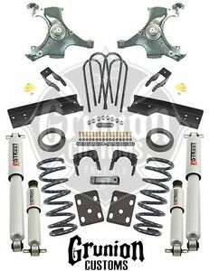 Chevy C1500 Silverado 88 98 4 6 Lowering Drop Kit W Performance Shocks Belltech