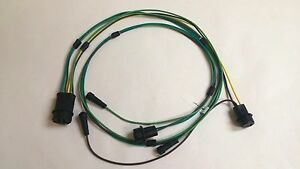 1968 Chevy Pick Up Truck Stepside Rear Body Light Wiring Harness 8 Foot Bed
