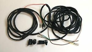 1970 1972 Chevy Suburban Panel Truck Rear Body Light Wiring Harness Dash To Rear