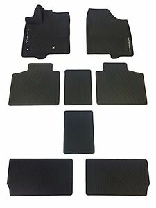Toyota Sienna 2013 2017 Factory All Weather Rubber Floor Liners Genuine Oem Oe