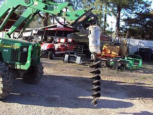 John Deere Quick Style Off Set Heavy Duty Premier Hydraulic Auger New