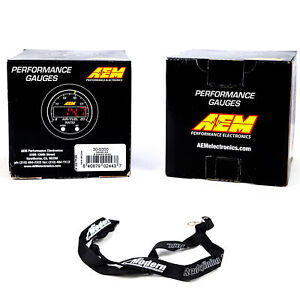 Aem 52mm X series Gauge Kit Wideband Air fuel 300f Water trans oil Temperature