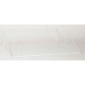 Pack Of 10 New Retails White Double Shirt Shelf 23 1 2 w X 14 d