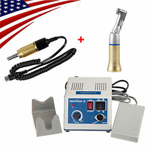 Usa Dental Lab Marathon Micromotor Electric Motor With Contra Angle 35k Rpm
