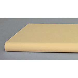 Lot Of 10 New Retails Almond Bullnose Shelf With Open Bottom 13 x24