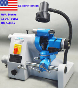 New Ce U3 Universal Cutter Grinder Sharpener For End Mill twist Drill 110v 60hz