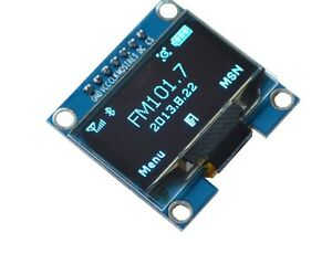 1pcs 1 3 Blue Spi Serial 128x64 Oled Lcd Display Screen Module For Arduino L