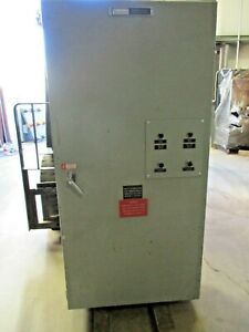 Russelectric 600 Amp 480 Volt Automatic Transfer Switch Ats253