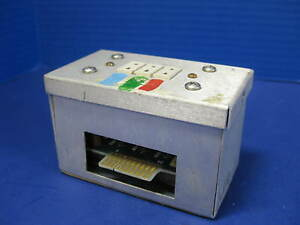Thermco 118155 001 Junction Box With 117840 001 Type B Thermocouple Pcb Used
