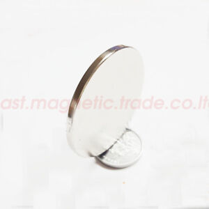 Wholesale D 40mm Neodymium Disc Super Strong Rare Earth Magnet N50 Thickness 3mm