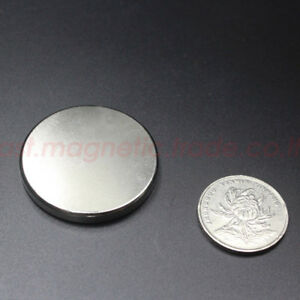 Wholesale D 40mm Neodymium Disc Super Strong Rare Earth Magnet N50 Thickness 5mm