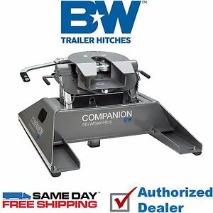 Rvk3500 B W Companion 5th Wheel Rv Gooseneck Hitch Adapter 20 000 Lbs Gtw