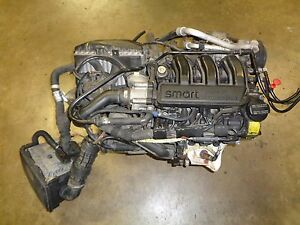 2002 2006 Smart Fortwo Turbo Engine And Transmission With Ecu