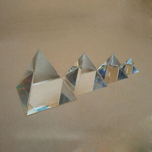 Optical Glass Four Sides Prism For Optical Experiment Optics Instruments Rainbow