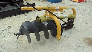 New 3pt Hd Post Hole Digger W 18 Auger Pl18