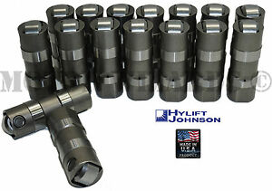 Hylift Johnson Hydraulic Roller Lifters Set 16 For Ford 302 5 0 351w Usa made