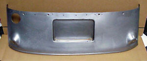 1933 1934 Ford Gas Tank Cover Stock With License Recess Coupe Sedan Roadster