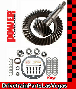 Power Torque Ring Pinion Gear Set Gm 8 5 10 Bolt 3 73 Master Kit 1999 And Older