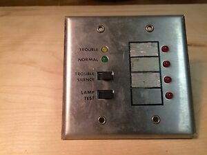 Fire Alarm Faraday 7704 Remote Annunciator