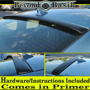 Fits 2009 2016 Hyundai Genesis Coupe Circuit Style Roof Rear Spoiler Unpainted