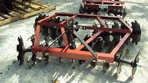 New 3pt 6 5 Tandem Disc Harrow Wf2018