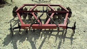 New 3pt 6 5 Tandem Disc Harrow Wf2016