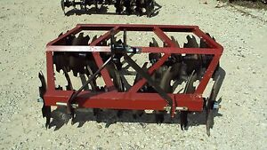 New 3pt 5 5 Tandem Disc Harrow Wf1618