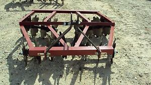 New 3pt 5 5 Tandem Disc Harrow Wf1616
