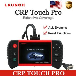 Launch Crp Touch Pro Auto Diagnostic Scanner All System Creader Epb Dpf Tpms New