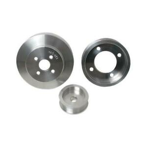 Bbk 94 95 Ford Mustang 5 0l 3 Pc Underdrive Pulley Kit aluminum 1554