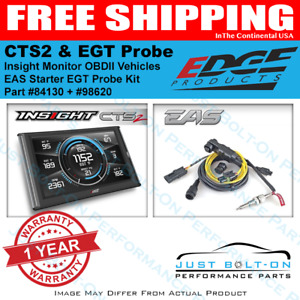 Edge Package Deal 84130 Insight Cts2 Monitor Eas Starter Egt Probe Kit 98620