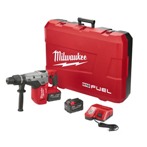 Milwaukee 2717 22hd 1 9 16 M18 Fuel Sds Max Rotary Hammer Kit Two Batteries