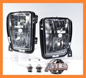 2013 2014 2015 2016 Dodge Ram 1500 Clear Fog Lights Lamps Pair Left right