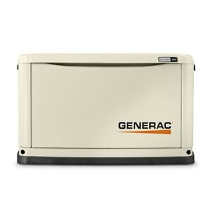 Generac 7029 Guardian Series 9kw Generator Alum Enclosure Natural Gas Propane
