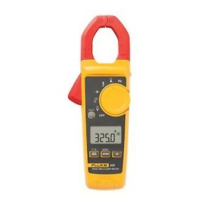 Fluke 325 Trms Clamp Meter 400 A With Resistance Capacitance And Frequency