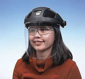 Sellstrom 32010 Faceshield With Headgear Clear Pc Shield