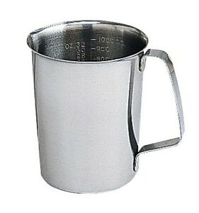 Cole parmer Stainless Steel Graduated Pouring Beaker 16 Oz 500 Ml