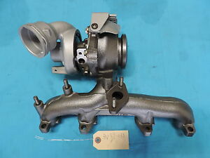 2005 2006 Vw Volkswagen Beetle Jetta A5 1 9l Tdi Brm Turbo Charger By New Chra