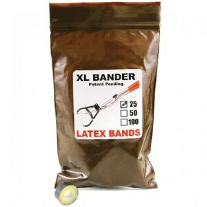 Tri bander Xl Bands Castrate Bulls Goats Fast Easy To Use Bander 250 750lbs 25ct