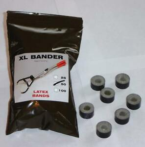 Tri bander Xl Bands Castrate Bulls Goats Fast Easy To Use 250 750lbs 100ct