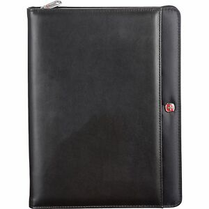 Wenger Tech Zippered Padfolio W pen Executive Business Organizer